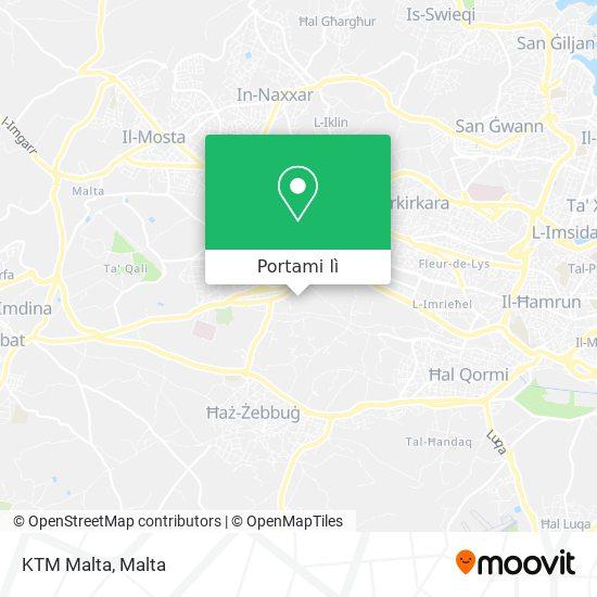 Mappa KTM Malta