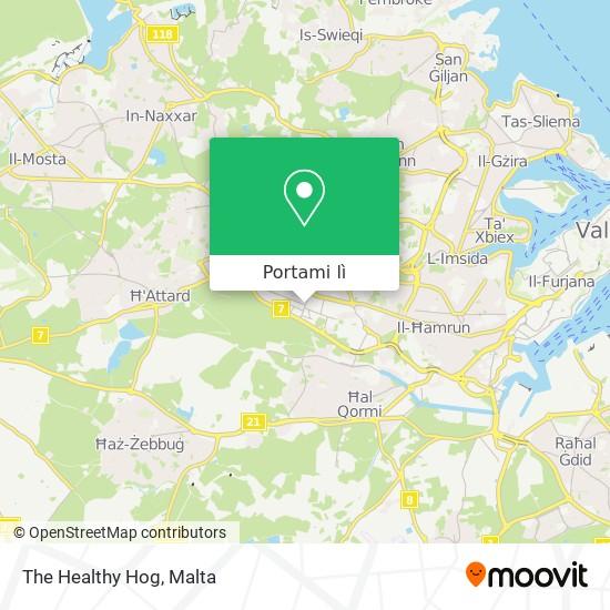 Mappa The Healthy Hog