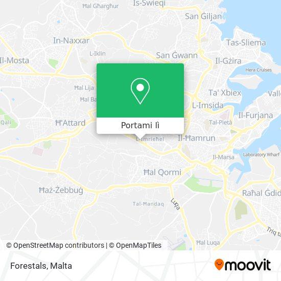 Mappa Forestals