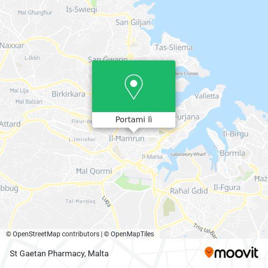 Mappa St Gaetan Pharmacy