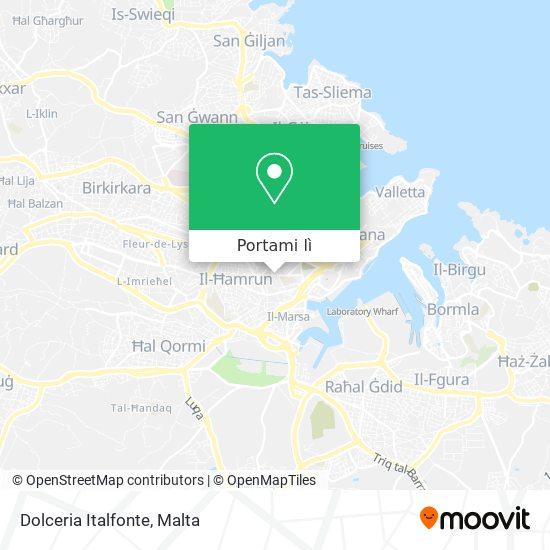 Mappa Dolceria Italfonte