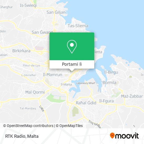 Mappa RTK Radio