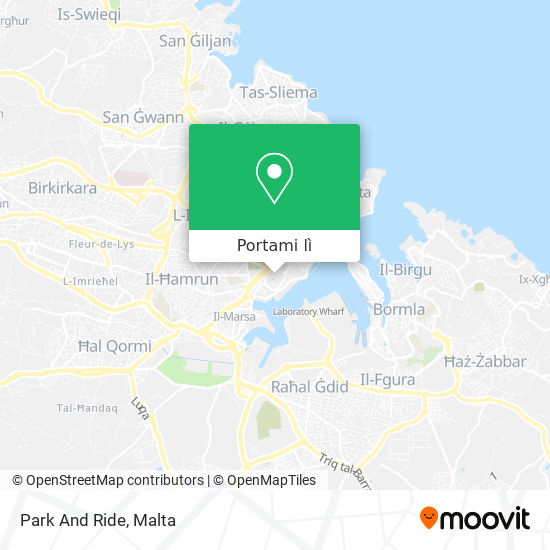 Mappa Park And Ride