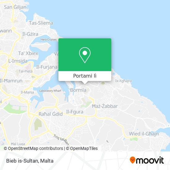 Mappa Bieb is-Sultan