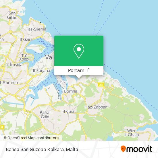 Mappa Bansa San Guzepp Kalkara