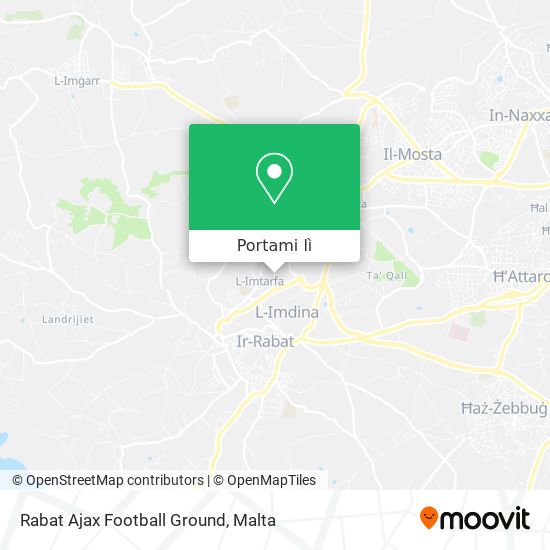Mappa Rabat Ajax Football Ground