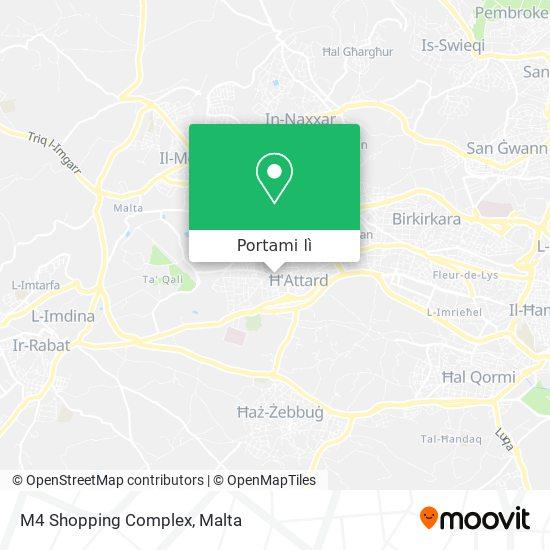 Mappa M4 Shopping Complex