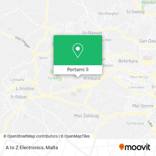 Mappa A to Z Electronics