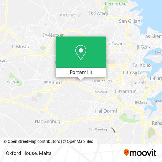 Mappa Oxford House