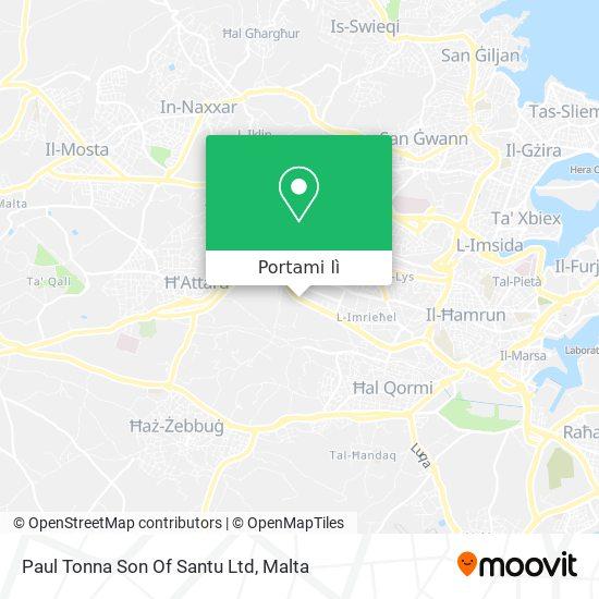 Mappa Paul Tonna Son Of Santu Ltd