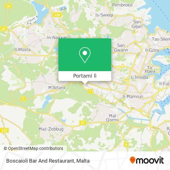 Mappa Boscaioli Bar And Restaurant