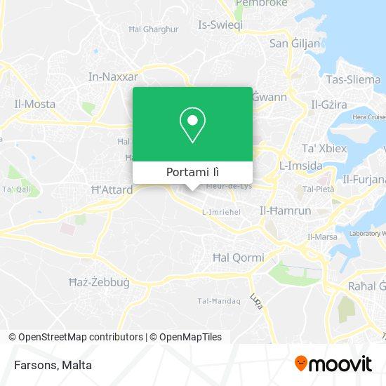 Mappa Farsons