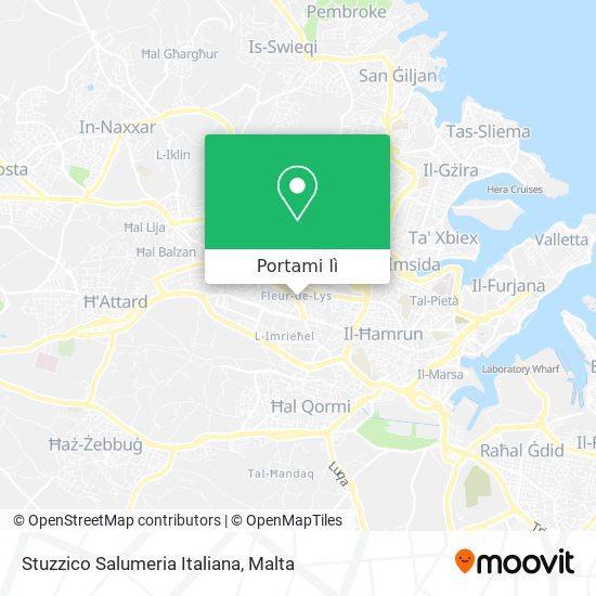 Mappa Stuzzico Salumeria Italiana