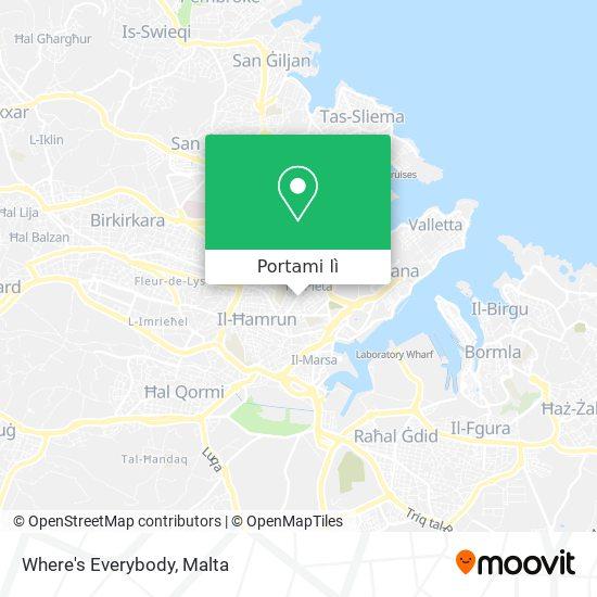 Mappa Where's Everybody