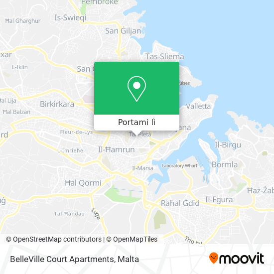 Mappa BelleVille Court Apartments