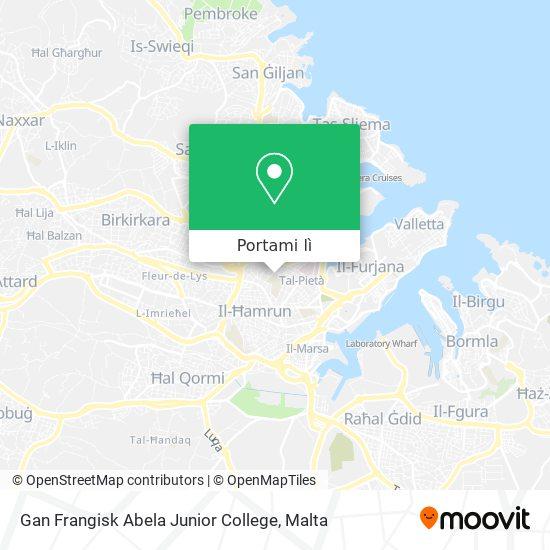 Mappa Gan Frangisk Abela Junior College