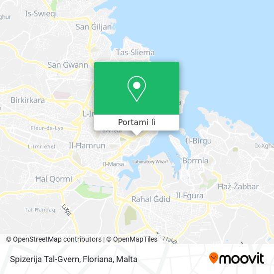 Mappa Spizerija Tal-Gvern, Floriana