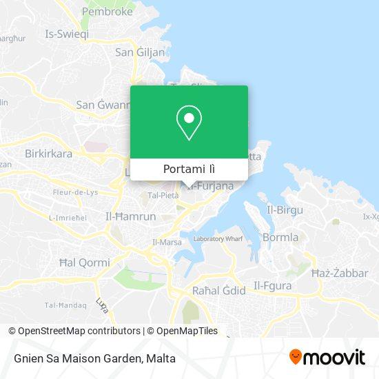 Mappa Gnien Sa Maison Garden