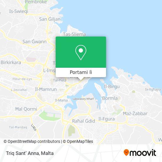 Mappa Triq Sant' Anna