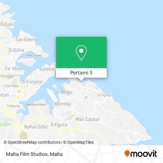Mappa Malta Film Studios