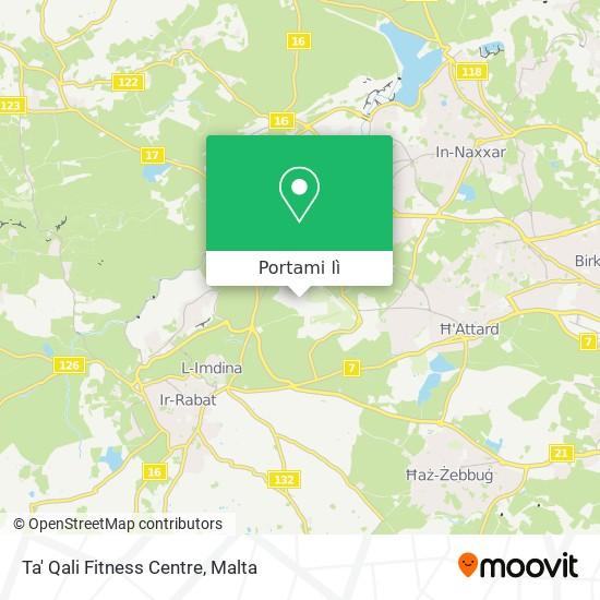 Mappa Ta' Qali Fitness Centre
