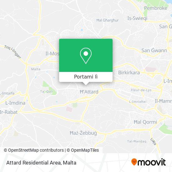 Mappa Attard Residential Area