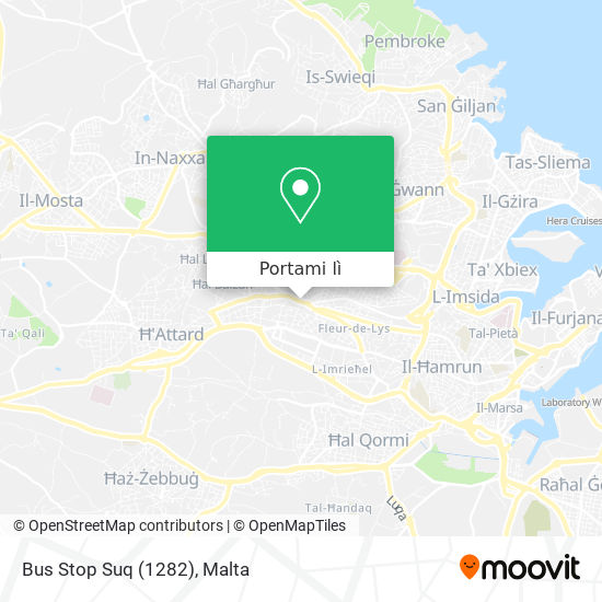 Mappa Bus Stop Suq (1282)