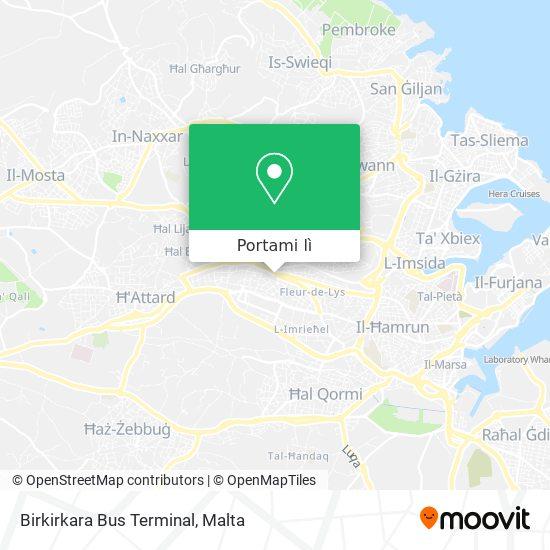 Mappa Birkirkara Bus Terminal