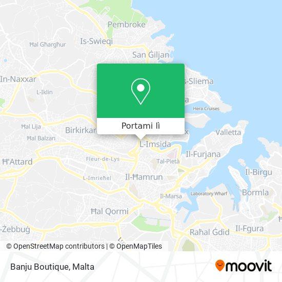 Mappa Banju Boutique
