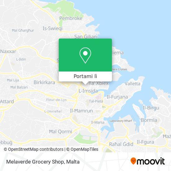 Mappa Melaverde Grocery Shop