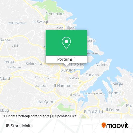 Mappa JB Store