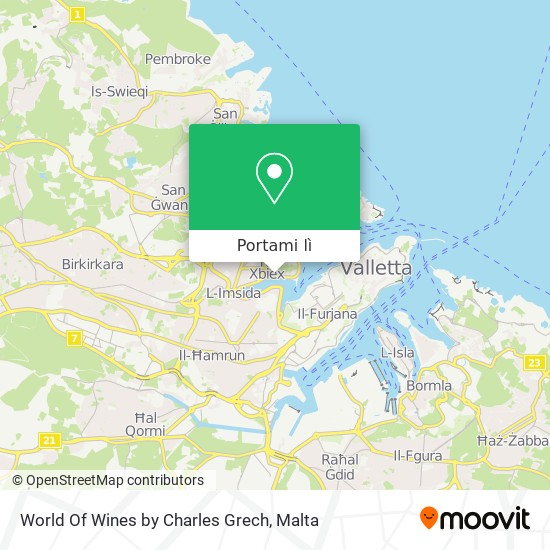 Mappa World Of Wines by Charles Grech