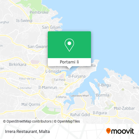 Mappa Irrera Restaurant
