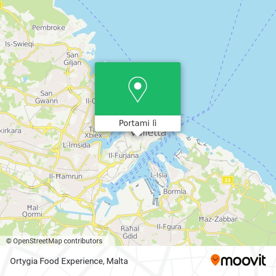 Mappa Ortygia Food Experience