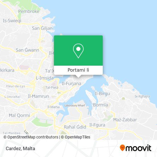 Mappa Cardez
