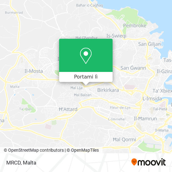 Mappa MRCD