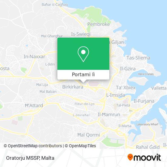 Mappa Oratorju MSSP