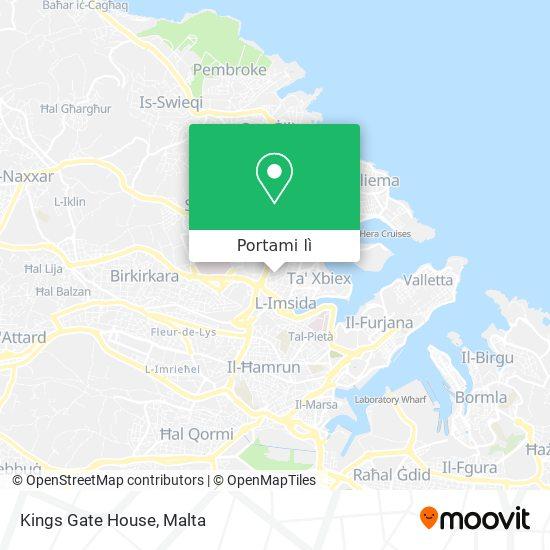 Mappa Kings Gate House