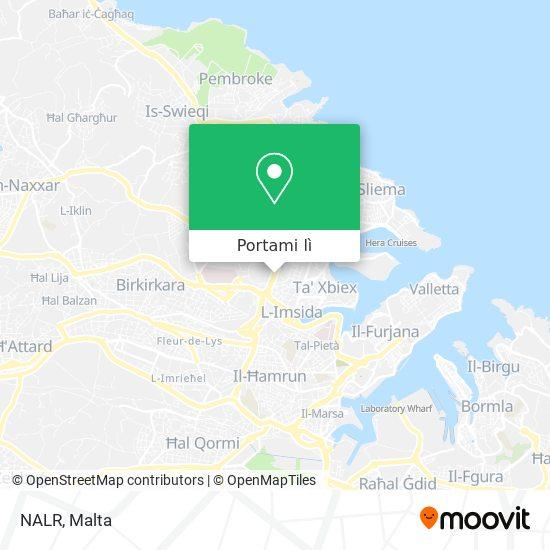 Mappa NALR
