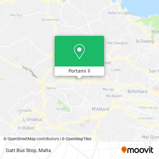 Mappa Gatt Bus Stop