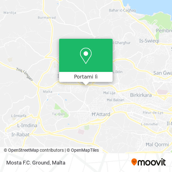 Mappa Mosta F.C. Ground