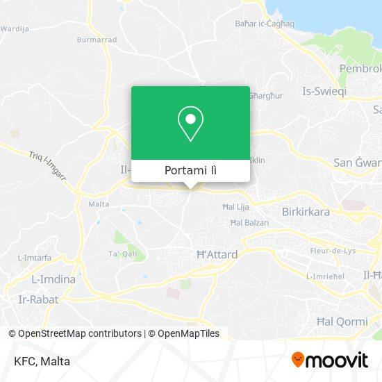 Mappa KFC