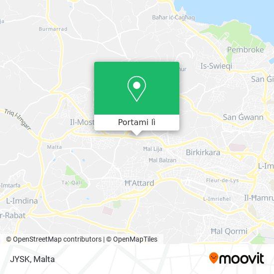 Mappa JYSK