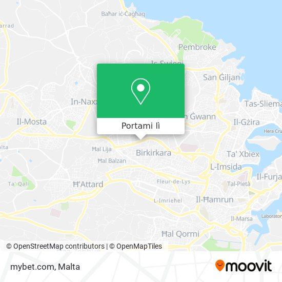 Mappa mybet.com