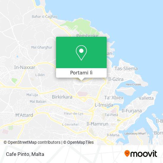 Mappa Cafe Pinto