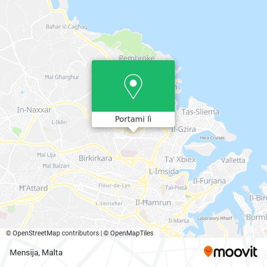 Mappa Mensija