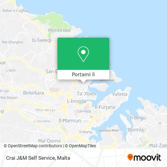 Mappa Crai J&M Self Service