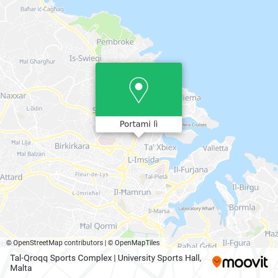 Mappa Tal-Qroqq Sports Complex | University Sports Hall
