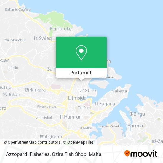 Mappa Azzopardi Fisheries, Gzira Fish Shop