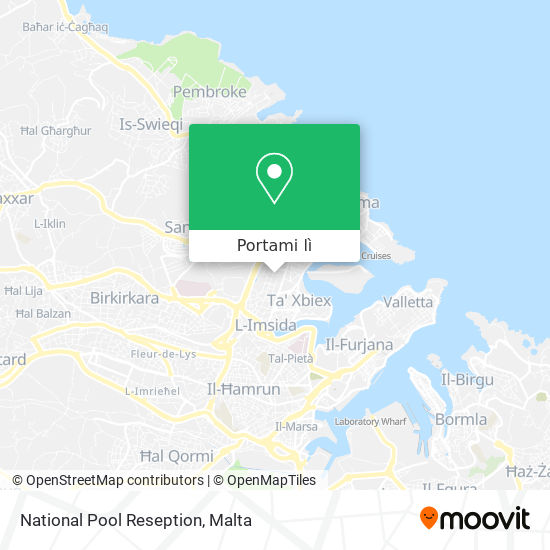 Mappa National Pool Reseption